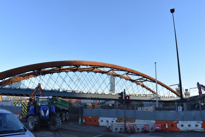 Manchester Ordsall Chord train connection opened to public