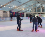 Ice rink at MediaCity attracts hundreds ahead of holiday season